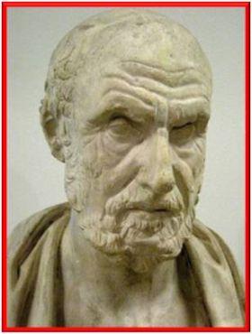 Resultado de imagem para hipócrates de cós o pai da medicina ocidental